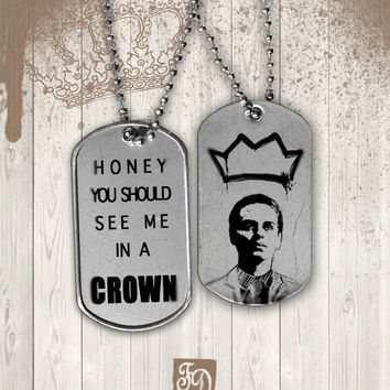 BBC Sherlock, MORIARTY dog tag