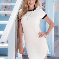 Country Club White Dress