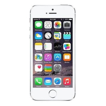 Refurbished iPhone 5S T-Mobile Silver 64GB (ME330LL/A) (A1533)