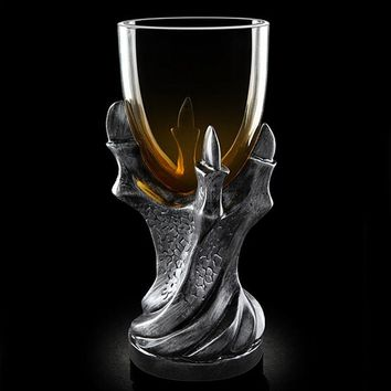 Game of Thrones Dragon Claw Mug Vodka Wine Goblet Glass Shot Cup Bear Whiskey Dragons Gothic Cups And Mugs Drinking Supplies
