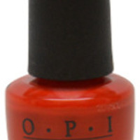 Women OPI Nail Lacquer # NL A16 The Thrill Of Brazil Nail Polish