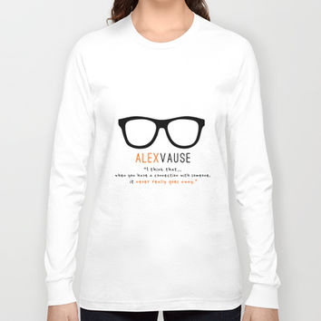 Alex Vause #2 | Connection | OITNB Long Sleeve T-shirt by Sandi Panda