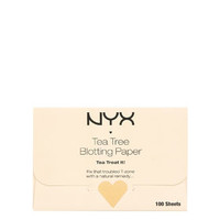 NYX Cosmetics Tea Tree Facial Blotting Paper Pack - Orange