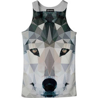 Abstract Wolf Tank