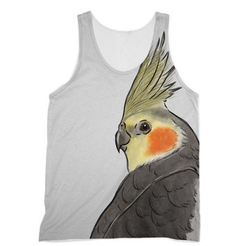 Cockatiel Designs by Amitie Sublimation Vest