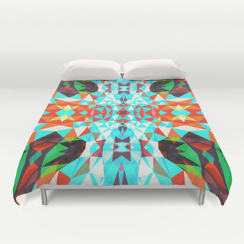 Mix #554 Duvet Cover by Ornaart