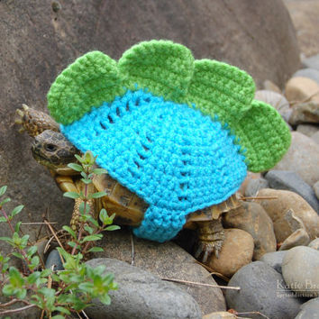 Stegosaurus tortoise cozy - made to order in any color