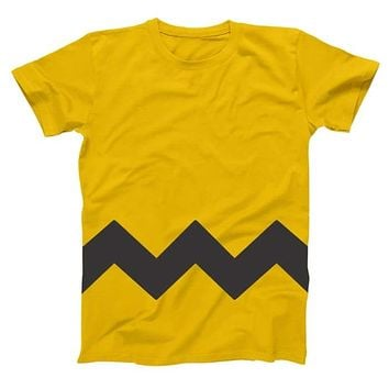 Charlie Brown Adult Men's T-Shirt
