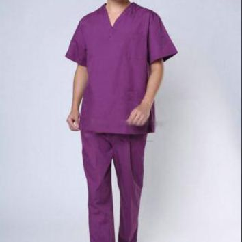 Male Nursing Medical Doctor SCRUB SET Uniform Doctor Biohazard Suits Scrubs