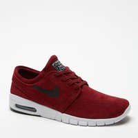 Nike SB Stefan Janoski Max Leather Red & Black Shoes - Mens Shoes - Red