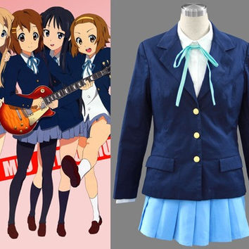 Anime Cosplay Costume Uniform from K-On Costume