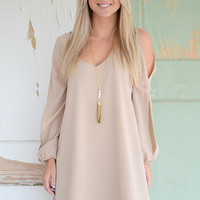 Alessandra Dress- Cream