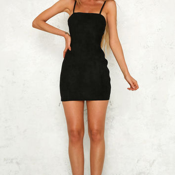 Virgo Season Dress Black