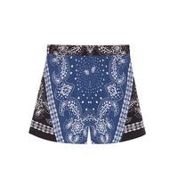 Sandro Pony Print Shorts at Sandro US