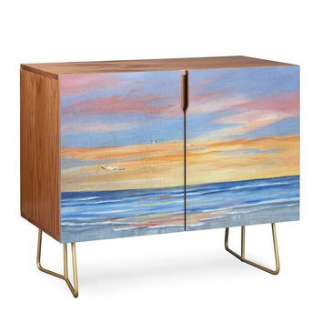Rosie Brown Sunset Reflections Credenza