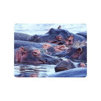 Beautiful Animal Mouse Pad Hippos