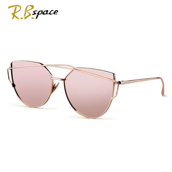 RBspace Cat eyes  polarizer women's sunglasses for women summer style vintage sun glasses woman oculos de sol feminino nightclub