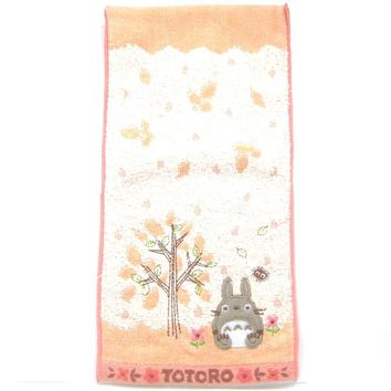 Small My Neighbor Totoro Embroidered Bath Wash Scrub Towel in Pi c38fcfa767