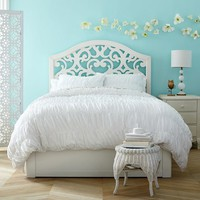 Floral Cut-Out Storage Bed