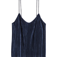 Pleated Camisole Top - from H&M