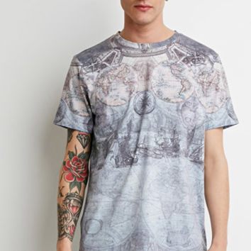 World Map Graphic Tee