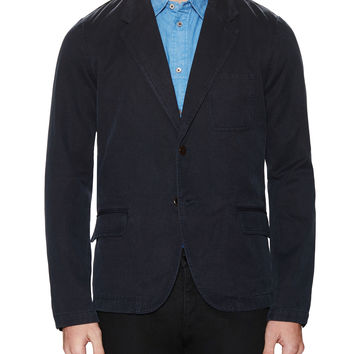Paul Smith Men's Rever Notch Lapel Jacket - Dark Blue - Size XXL