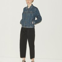 Cherry Blouson Denim Jacket by A.P.C. - La Garçonne
