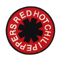 Red Hot Chili Peppers Rock Music Band Logo I Embroidered Iron Patches