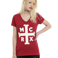 My Chemical Romance The Black Parade Cross Girls T-Shirt