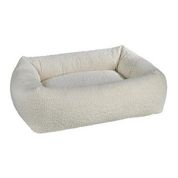 Faux Sheepskin Dutchie — Ivory