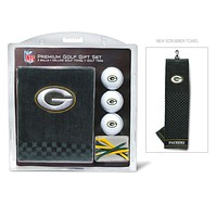 Green Bay Packers Golf Gift Set with Embroidered Towel