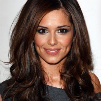 Cheryl Cole Long Human Hair Wig