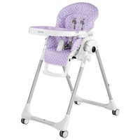 Peg Perego Prima Pappa Zero 3 High Chair in Baby Dot Lilac