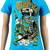 Pierce The Veil Hombre Teal Tee