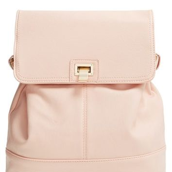 Junior Women's Cesca 'Lenna' Faux Leather Backpack
