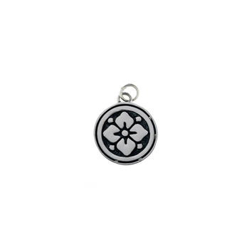 Ceremonial Kamon Sterling Silver November Gardenia Charm