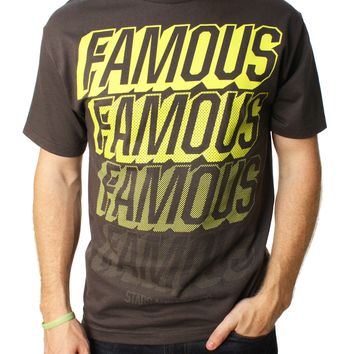 Famous Stars And Straps Men's Famous Fader Graphic T-Shirt