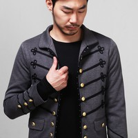 Mens Avant Garde Napoleon Gold Embroidery Jacket at Fabrixquare