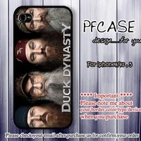 Duck Dynasty : Handmade case For Iphone 4/4s ,5