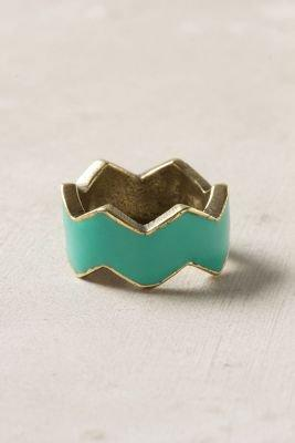 Zigzagged Ring - Anthropologie.com