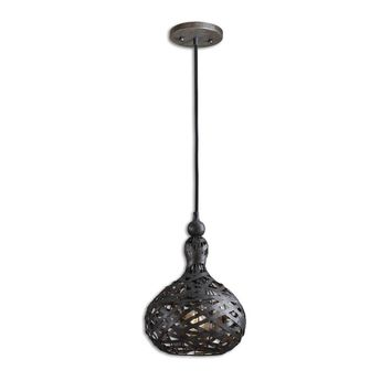 Alita Industrial 1 Light Mini Pendant