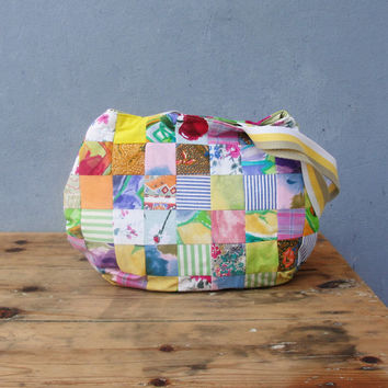 Patched Happiness Bag - Bright Multicolored Patchwork