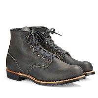 Red Wing Blacksmith Boot in Rough & Tough Leather in Charcoal