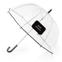 "Clear Umbrella With ""Rain Check?"" by Kate Spade New York"