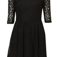 **Lace Skater Dress by Rare - New In This Week - Topshop