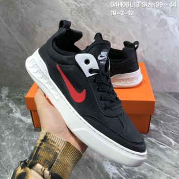 HCXX N922 Nike Dunk SB Neon J-Pack 2019 Leather Low Skate Shoes Black Red