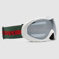 Gucci Ski goggles with Gucci logo and signature web detail
