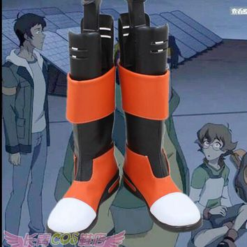 Voltron: Defender of the Universe Cosplay Defender Pidge Voltron Cosplay Boots Shoes Custom Made