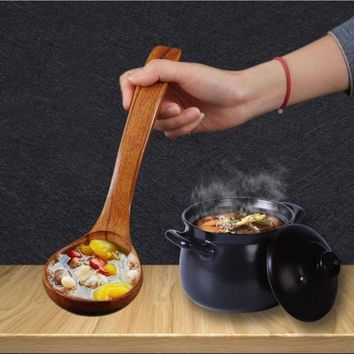 Long Handled Soup Cooking Spoons