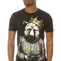 Rook Tee Biggie Bear Graphic Tee in Black